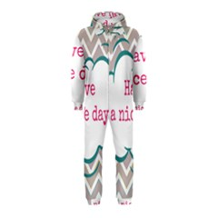 Have A Nice Day Hooded Jumpsuit (kids)