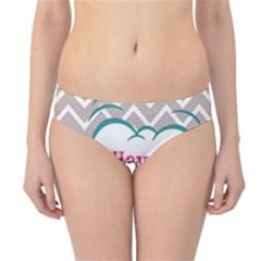 Have A Nice Day Hipster Bikini Bottoms