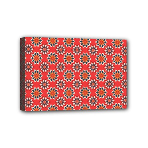 Floral Seamless Pattern Vector Mini Canvas 6  x 4