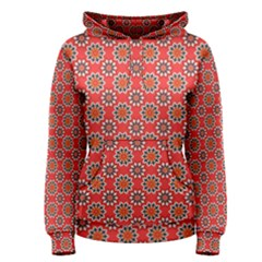 Floral Seamless Pattern Vector Women s Pullover Hoodie