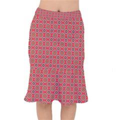 Floral Seamless Pattern Vector Mermaid Skirt