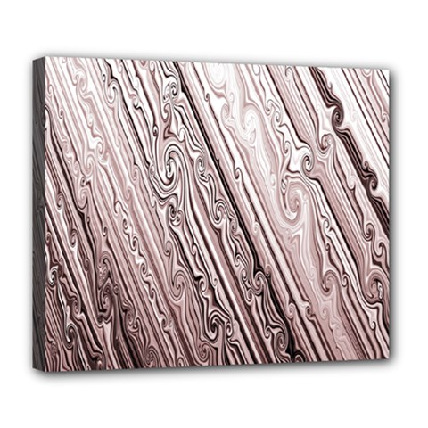 Vintage Pattern Background Wallpaper Deluxe Canvas 24  X 20