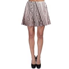 Vintage Pattern Background Wallpaper Skater Skirt