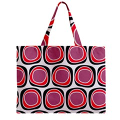 Wheel Stones Pink Pattern Abstract Background Mini Tote Bag