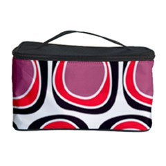 Wheel Stones Pink Pattern Abstract Background Cosmetic Storage Case