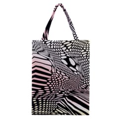 Abstract Fauna Pattern When Zebra And Giraffe Melt Together Classic Tote Bag