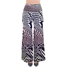 Abstract Fauna Pattern When Zebra And Giraffe Melt Together Pants