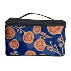 Floral Seamless Pattern Vector Texture Cosmetic Storage Case