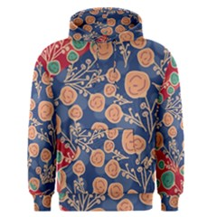 Floral Seamless Pattern Vector Texture Men s Pullover Hoodie
