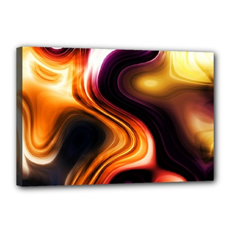 Colourful Abstract Background Design Canvas 18  x 12