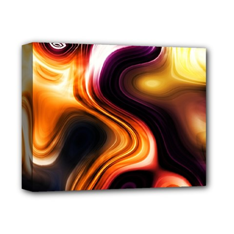 Colourful Abstract Background Design Deluxe Canvas 14  x 11