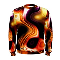 Colourful Abstract Background Design Men s Sweatshirt