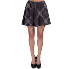Abstract Seamless Pattern Background Skater Skirt