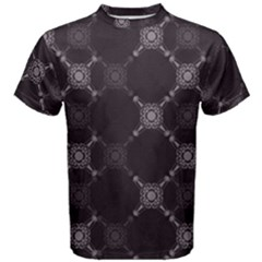 Abstract Seamless Pattern Background Men s Cotton Tee