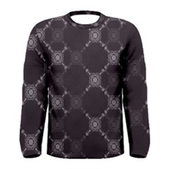 Abstract Seamless Pattern Background Men s Long Sleeve Tee