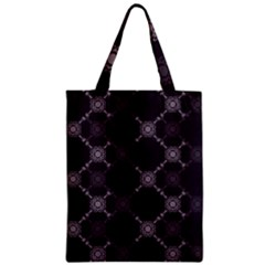 Abstract Seamless Pattern Background Zipper Classic Tote Bag