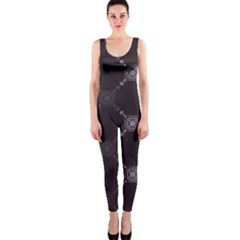 Abstract Seamless Pattern Background OnePiece Catsuit