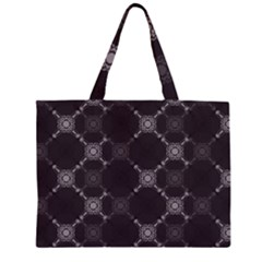 Abstract Seamless Pattern Background Zipper Large Tote Bag