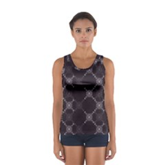 Abstract Seamless Pattern Background Women s Sport Tank Top