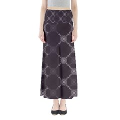 Abstract Seamless Pattern Background Full Length Maxi Skirt