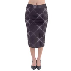 Abstract Seamless Pattern Background Midi Pencil Skirt