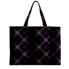 Abstract Seamless Pattern Background Medium Zipper Tote Bag