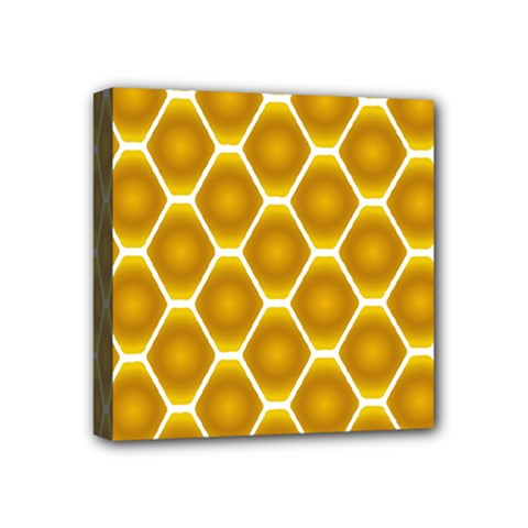 Snake Abstract Pattern Mini Canvas 4  X 4
