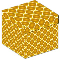 Snake Abstract Pattern Storage Stool 12