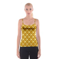 Snake Abstract Pattern Spaghetti Strap Top