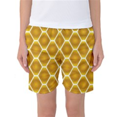 Snake Abstract Pattern Women s Basketball Shorts