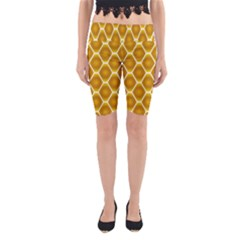 Snake Abstract Pattern Yoga Cropped Leggings