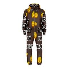 Hallowen My Sweet Scary Pumkins Hooded Jumpsuit (kids)