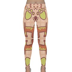 Pet Dog Design  Tileable Doodle Dog Art Classic Yoga Leggings