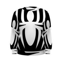 White Spider Women s Sweatshirt