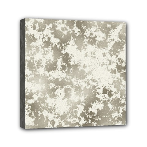 Wall Rock Pattern Structure Dirty Mini Canvas 6  x 6