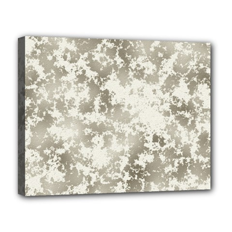 Wall Rock Pattern Structure Dirty Canvas 14  X 11