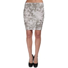 Wall Rock Pattern Structure Dirty Bodycon Skirt