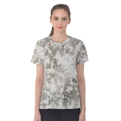 Wall Rock Pattern Structure Dirty Women s Cotton Tee