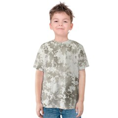 Wall Rock Pattern Structure Dirty Kids  Cotton Tee