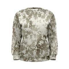 Wall Rock Pattern Structure Dirty Women s Sweatshirt