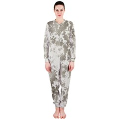 Wall Rock Pattern Structure Dirty Onepiece Jumpsuit (ladies)