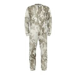 Wall Rock Pattern Structure Dirty Onepiece Jumpsuit (kids)