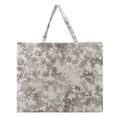 Wall Rock Pattern Structure Dirty Zipper Large Tote Bag