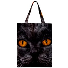 Cat Eyes Background Image Hypnosis Zipper Classic Tote Bag