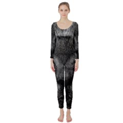 Cat Eyes Background Image Hypnosis Long Sleeve Catsuit