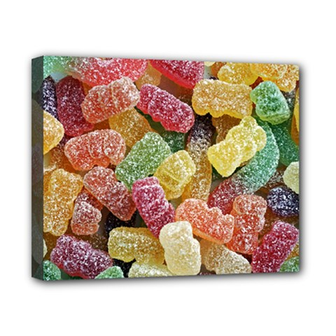 Jelly Beans Candy Sour Sweet Canvas 10  x 8