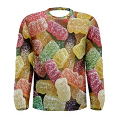 Jelly Beans Candy Sour Sweet Men s Long Sleeve Tee