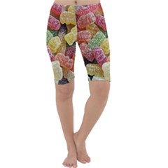 Jelly Beans Candy Sour Sweet Cropped Leggings