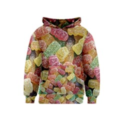 Jelly Beans Candy Sour Sweet Kids  Pullover Hoodie