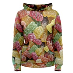 Jelly Beans Candy Sour Sweet Women s Pullover Hoodie